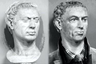Sulla buste romain
