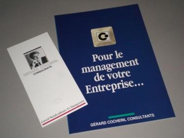 Plaquette et mailing G.Cocheril