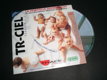 Pochette CD de logiciel technique