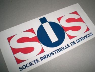 Logo d'une entreprise de nettoyage industriel