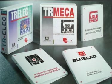 Classeurs et boitiers pour la promotion de logiciels techniques