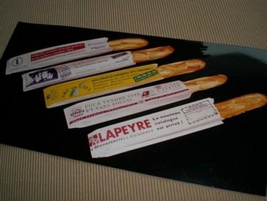 Sachets à pain publicitaires (régie publicitaire MédiaPAC)