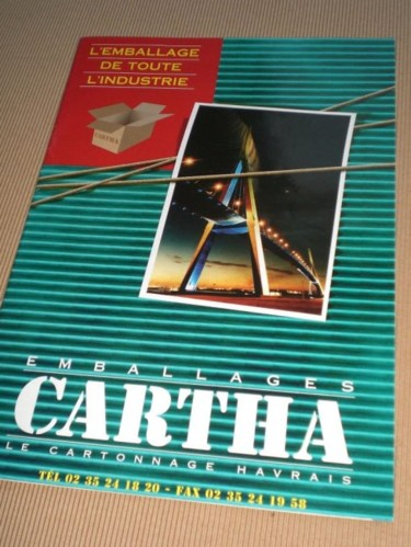 Catalogue d'une entreprise d'emballage industriel
