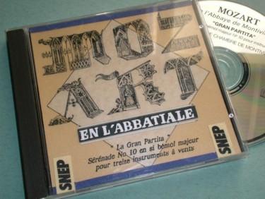 Jaquette CD mécénat d'entreprise