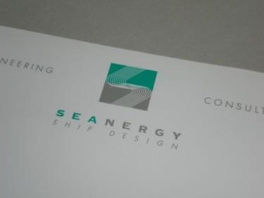 Logo d'un bureau d'études en ingénierie navale.