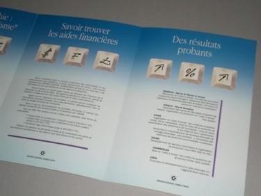 pages intérieures de la plaquette G. Cocheril