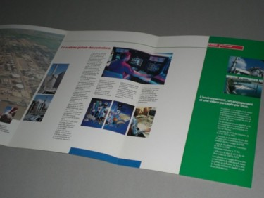 Pages intérieures plaquette ESSO Normandie
